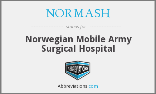 What does NORMASH stand for?