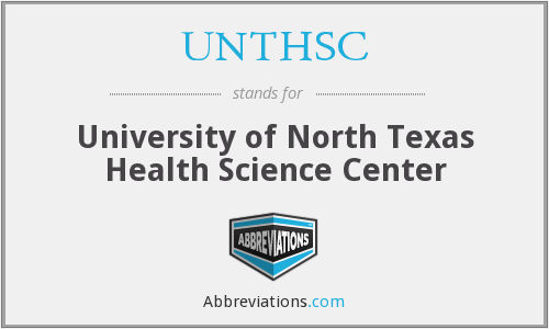 UNTHSC - University of North Texas Health Science Center