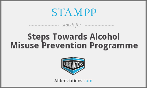 STAMPP - Steps Towards Alcohol Misuse Prevention Programme