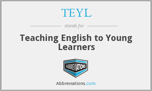 What does TEYL stand for?