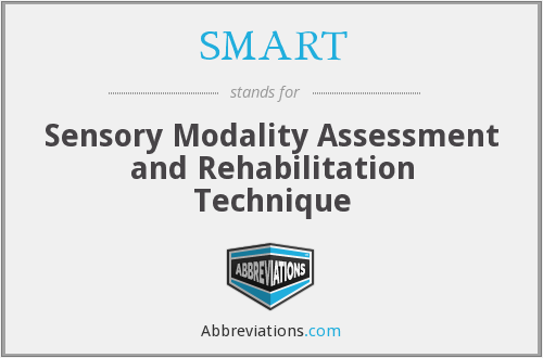 SMART - Sensory Modality Assessment and Rehabilitation Technique