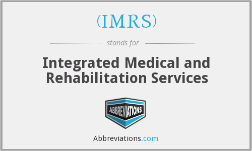 What does (IMRS) stand for?