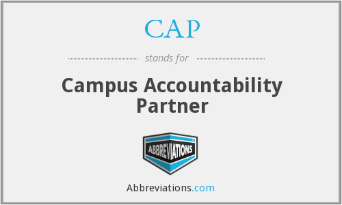 CAP - Campus Accountability Partner