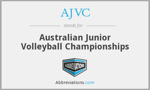 AJVC - Australian Junior Volleyball Championships