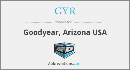 GYR - Goodyear, Arizona USA