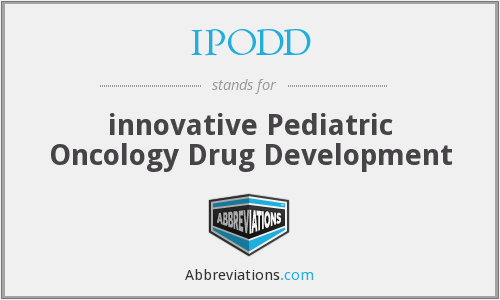 What does IPODD stand for?