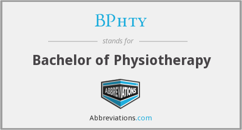 What does BPHTY stand for?