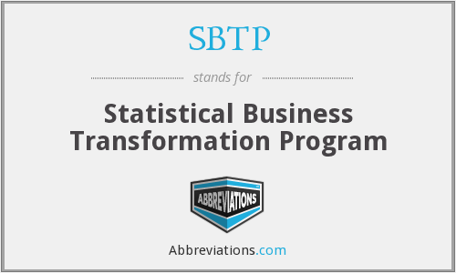 What does SBTP stand for?