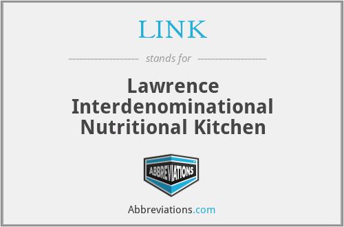 LINK - Lawrence Interdenominational Nutritional Kitchen