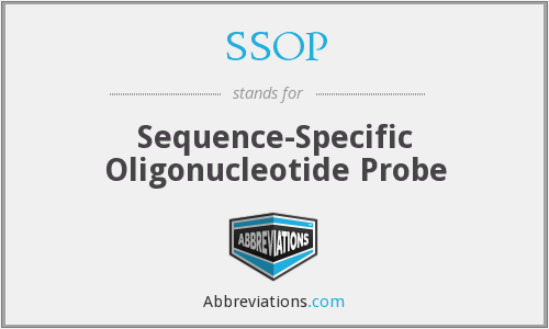 SSOP - Sequence-Specific Oligonucleotide Probe