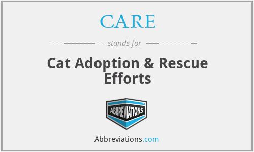 CARE - Cat Adoption & Rescue Efforts