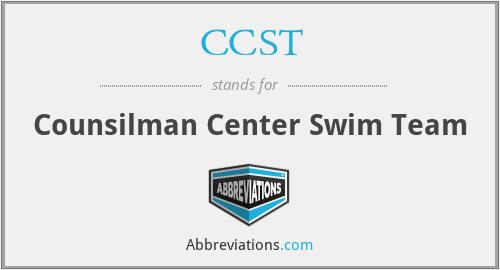 CCST - Counsilman Center Swim Team