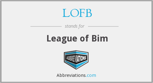 What does LOFB stand for?