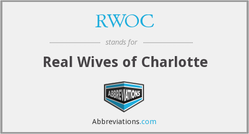 What does RWOC stand for?