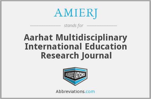 What does AMIERJ stand for?