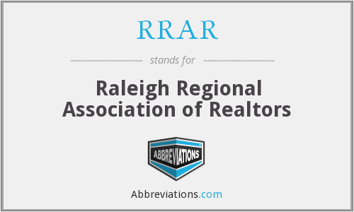 What does RRAR stand for?
