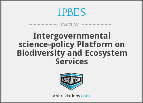 What does IPBES stand for?