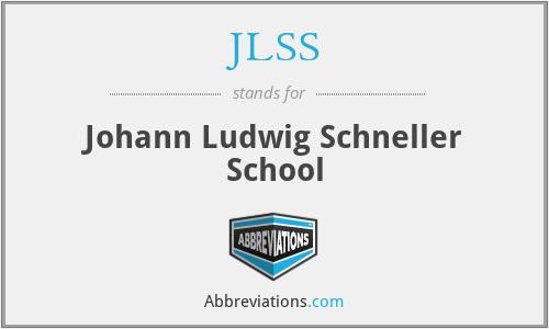 JLSS - Johann Ludwig Schneller School