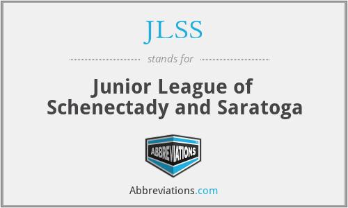 JLSS - Junior League of Schenectady and Saratoga