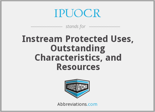 What does IPUOCR stand for?