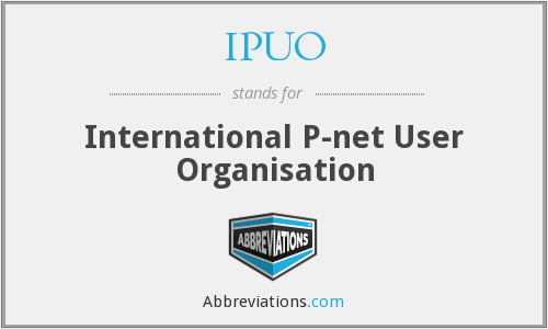 What does IPUO stand for?