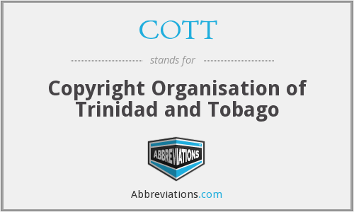 What does COTT stand for?