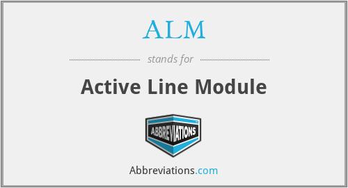 ALM - Active Line Module
