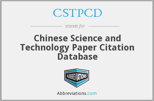 What does CSTPCD stand for?