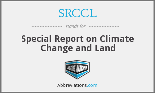 What does SRCCL stand for?