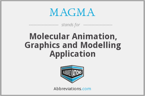 MAGMA - Molecular Animation, Graphics and Modelling Application