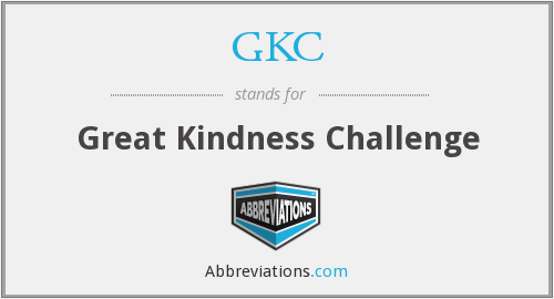 GKC - Great Kindness Challenge