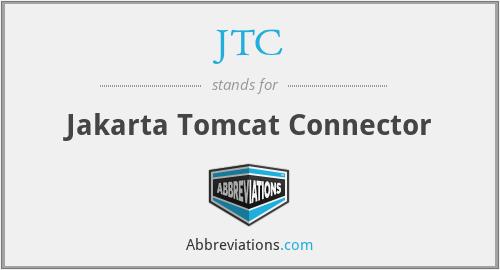 JTC - Jakarta Tomcat Connector