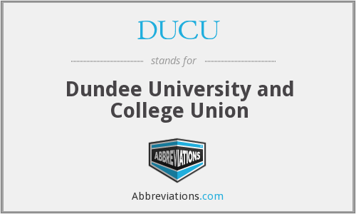 What does DUCU stand for?