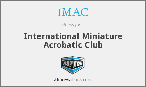 IMAC - International Miniature Acrobatic Club