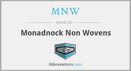 MNW - Monadnock Non Wovens