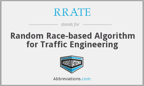 What does RRATE stand for?