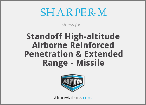 What does SHARPER-M stand for?