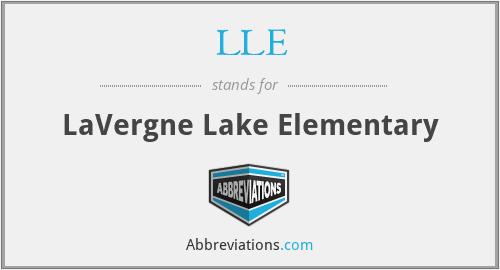 LLE - LaVergne Lake Elementary