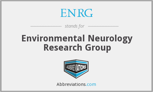 What does ENRG stand for?