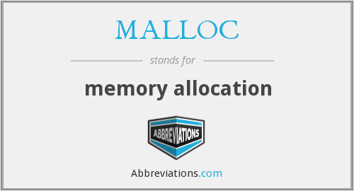 What does MALLOC stand for?