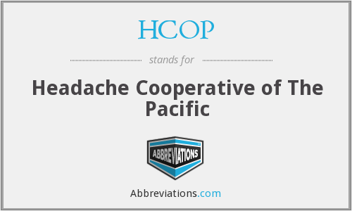 What does HCOP stand for?