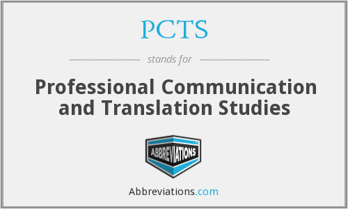 What does PCTS stand for?