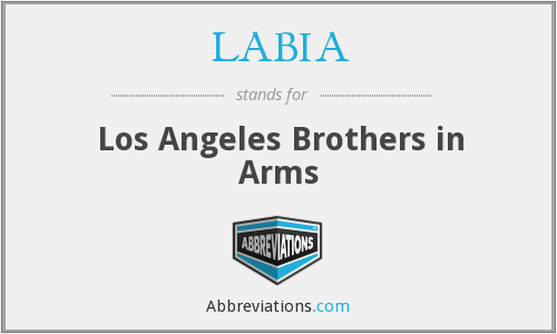 LABIA - Los Angeles Brothers in Arms