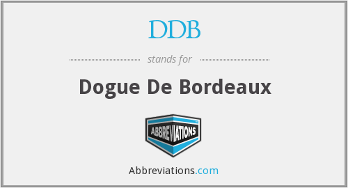DDB - Dogue De Bordeaux
