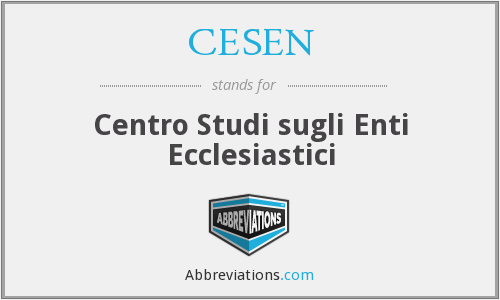 What does CESEN stand for?