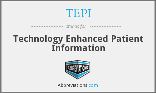 What does TEPI stand for?