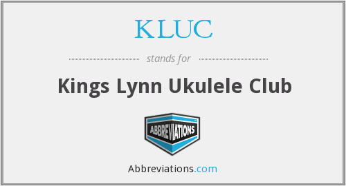 What does KLUC stand for?