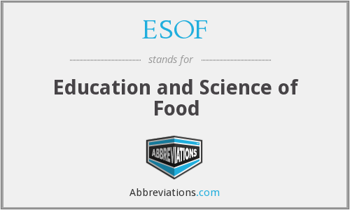What does ESOF stand for?