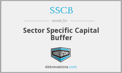 SSCB - Sector Specific Capital Buffer