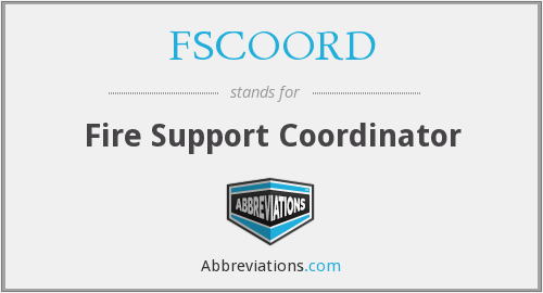 What does FSCOORD stand for?